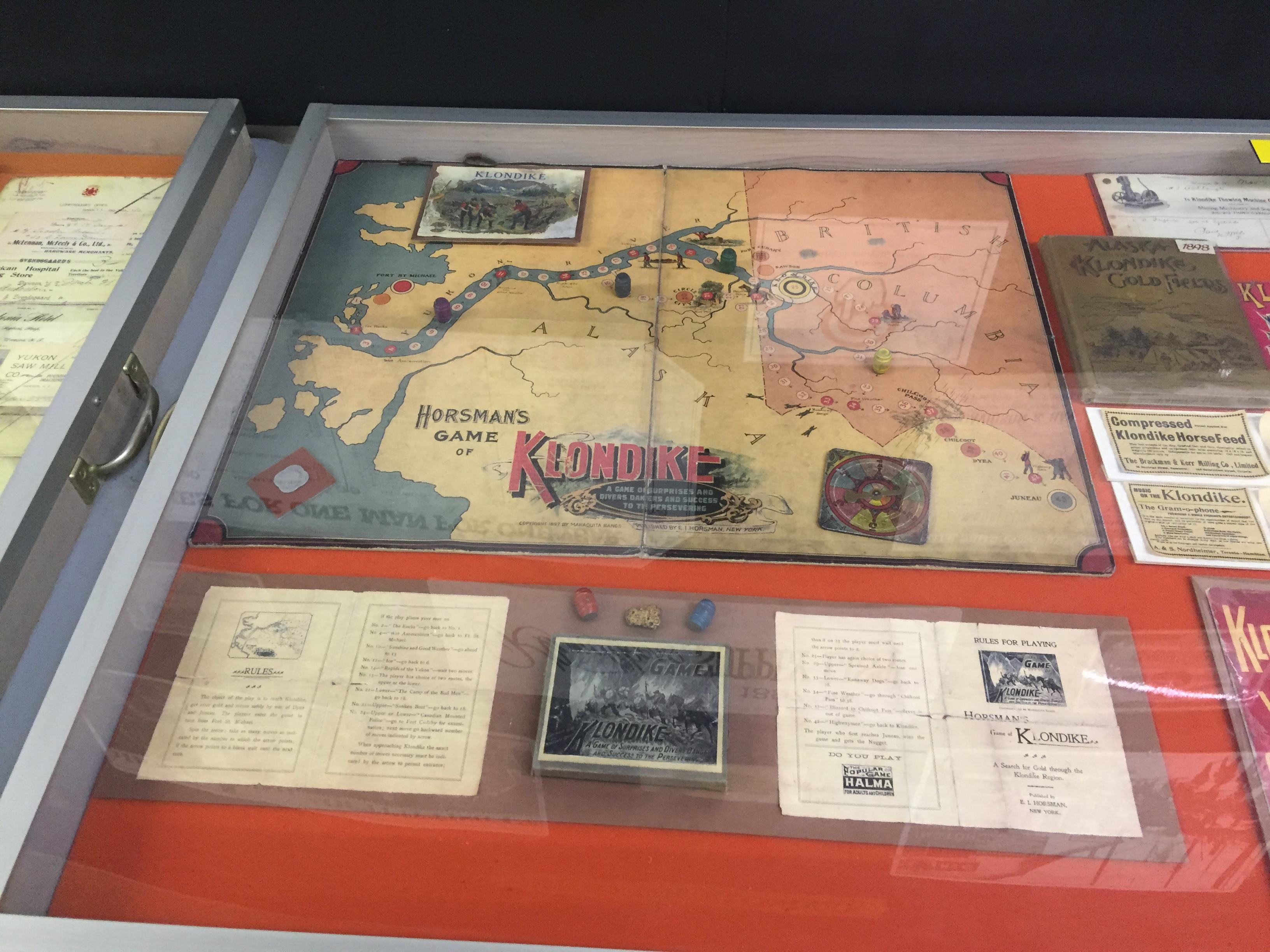 Horsman's game of Klondike, launched in 1897